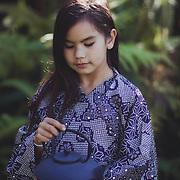 Princess Neela winter 2019 fur and kimono