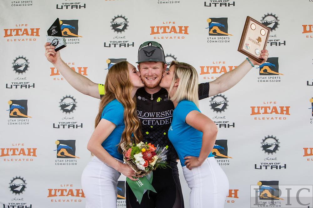 Cycling: Larry H. Miller Tour of Utah 2017 / Stage 4 - John Murphy (Holowesko) 1st place.<br /> <br /> <br /> <br /> South Jordan (199.1km) / TOU / Utah  <br /> &copy; Jonathan Devich