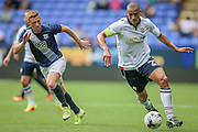 Darren Pratley (Bolton Wanderers) runs with the ball during the Pre-Season Friendly match between Bolton Wanderers and Preston North End at the Macron Stadium, Bolton, England on 30 July 2016. Photo by Mark P Doherty.