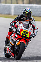 Federico Fuligni of Italy and Forwad Junior Team rides during free practice for the Moto2 of Catalunya at Circuit de Catalunya on June 9, 2017 in Montmelo, Spain.(ALTERPHOTOS/Rodrigo Jimenez)