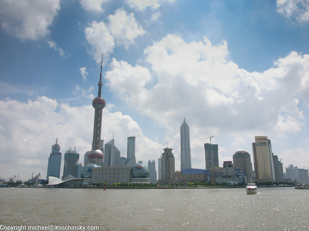 Pudong viewed from the Bund