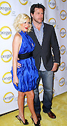 Tori Spelling and Dean McDermott attend the Oxygen Upfronts at Gotham Hall in New York City on April 4, 2011.
