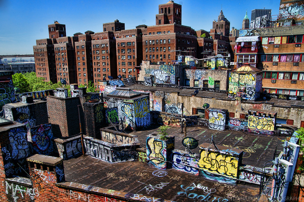 Rooftops of Chinatown, Lower Manhattan