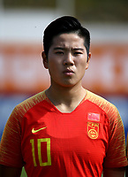 International Women's Friendly Matchs 2019 / <br /> Womens's Algarve Cup Tournament 2019 - <br /> China v Norway 1-3 ( Municipal Stadium - Albufeira,Portugal ) - <br /> LI YING of China
