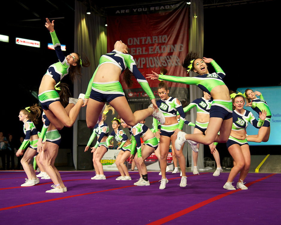 2012 Ontario Cheerleading Championships at the Hershey Centre
