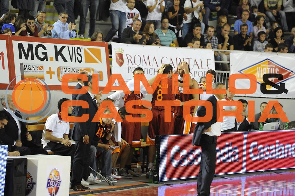 DESCRIZIONE : Roma Lega A 2011-12 Virtus Roma Angelico Biella<br /> GIOCATORE : Alessandro Tonolli<br /> CATEGORIA : esultanza<br /> SQUADRA : Virtus Roma<br /> EVENTO : Campionato Lega A 2011-2012<br /> GARA : Virtus Roma Angelico Biella<br /> DATA : 16/10/2011<br /> SPORT : Pallacanestro<br /> AUTORE : Agenzia Ciamillo-Castoria/GiulioCiamillo<br /> Galleria : Lega Basket A 2011-2012<br /> Fotonotizia : Roma Lega A 2011-12 Virtus Roma Angelico Biella<br /> Predefinita :