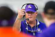 STARKVILLE, MS - SEPTEMBER 19:  Head Coach Jay Thomas of the Northwestern State Demons on the sidelines during a game against the Mississippi State Bulldogs at Davis Wade Stadium on September 19, 2015 in Starkville, Mississippi.  The Bulldogs defeated the Demons 62-13.  (Photo by Wesley Hitt/Getty Images) *** Local Caption *** Jay Thomas