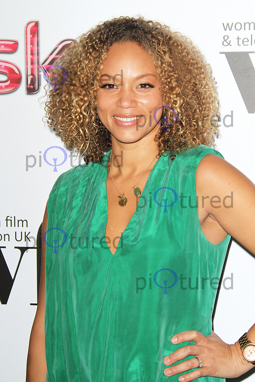LONDON - DECEMBER 07: Angela Griffin attended the Women in Film and TV Awards at the London Hilton Hotel, Park Lane, London, UK. December 07, 2012. (Photo by Richard Goldschmidt)
