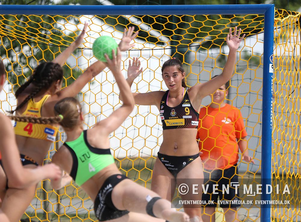 Junior European Beach Handball Championship 2017 in Jarun Beach, Zagreb, Croatia, 16.06.2017. Photo Credit: Søren T. Larsen/Allan Jensen/EVENTMEDIA.