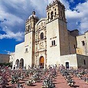 Santo Domingo church.Oaxaca, Mexico.