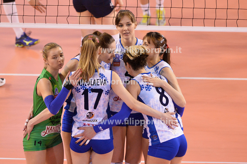 Fenerbahce Istanbul - Dinamo Kazan<br /> esultanza Dinamo Kazan