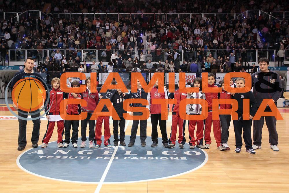 DESCRIZIONE : Biella Lega A 2010-11 Angelico Biella Canadian Solar Virtus Bologna<br /> GIOCATORE : Minibasket<br /> SQUADRA : Angelico Biella<br /> EVENTO : Campionato Lega A 2010-2011<br /> GARA : Angelico Biella Canadian Solar Virtus Bologna<br /> DATA : 06/01/2011<br /> CATEGORIA : <br /> SPORT : Pallacanestro<br /> AUTORE : Agenzia Ciamillo-Castoria/S.Ceretti<br /> Galleria : Lega Basket A 2010-2011<br /> Fotonotizia : Biella Lega A 2010-11 Angelico Biella Canadian Solar Virtus Bologna<br /> Predefinita :