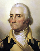 George Washington  Painted by  Rembrandt Peale 1795 - 1823   Oil on Canvas