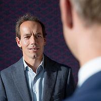 Nederland, Amsterdam, 11 november 2016.<br /> Zoran van Gessel oprichter van Bencis Capital en PWC-er Remco van Daal, Partner at PwC Transaction Services.<br /> Bencis is een onafhankelijke investeringsmaatschappij, die in 1999 is opgericht door Zoran van Gessel en Jeroen Pit. <br /> Bencis ondersteunt ondernemers en management teams bij het realiseren van hun groeiambities.<br /> Al meer dan 16 jaar investeren zij in sterke, succesvolle ondernemingen in Nederland en België. Door hun ervaring en expertise in sectoren als Industry & Manufacturing, Food & Beverages, Business & Consumer Services,Healthcare & Leisure en Wholesale & Retail zijn zij in staat om van toegevoegde waarde te zijn. Daarbij staat voor hun niet alleen de onderneming centraal, maar met name het ondersteunen van de mensen die het bedrijf hebben opgebouwd en verder helpen.<br /> <br /> <br /> Foto: Jean-Pierre Jans