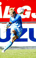 Fotball , <br /> Landslag kvinner , <br /> 02.07.08 , <br /> Fredrikstad stadion , <br /> Privatlandskamp<br /> Norge - USA , <br /> Hope Solo , <br /> Foto: Thomas Andersen / Digitalsport