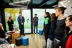 Opening ceremony during Slovenian National Tennis Championship 2019, on December 21, 2019 in Medvode, Slovenia. Photo by Vid Ponikvar/ Sportida
