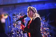 Tori Kelly performs at the 2016 Rockefeller Center Christmas Tree Lighting Ceremony, Wednesday, Nov. 30, 2016, in New York. (Photo by Diane Bondareff/Invision for Tishman Speyer/AP Images)