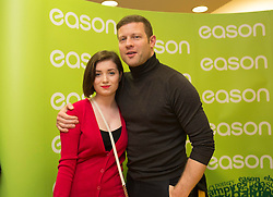 Repro Free: 13/11/2014 Pictured here is Dermot O&rsquo;Leary at the signing of his new book, &lsquo;The Soundtrack to My Life&rsquo;, today in Eason O&rsquo;Connell Street with Michaela Dunne from Enniscorthy Co. Wexford. O&rsquo;Leary&rsquo;s book, The Soundtrack to My Life, is currently on sale in Eason stores nationwide and online at www.easons.com retailing at &euro;18.99. Picture Andres Poveda<br />  <br /> For further information, please contact: <br /> Shane Lennon @ Wilson Hartnell<br /> 087 900 0320 / 01 669 0030
