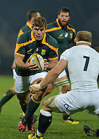 GEORGE, SOUTH AFRICA - JUNE 17: Malcolm Marx of South Africa during the match between South Africa 'A' and England Saxons at Outeniqua Park on June 17 2016 in George, South Africa. (Photo by Roger Sedres/Gallo Images)