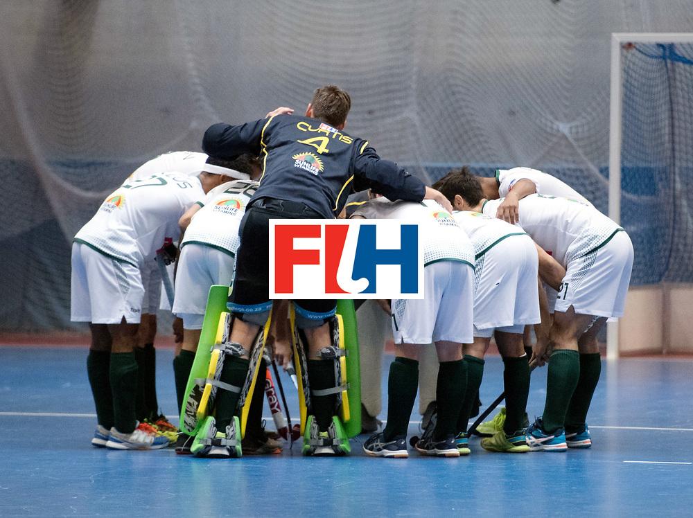 BERLIN - Indoor Hockey World Cup<br /> Kazakhstan - South Africa<br /> foto: Line Up<br /> WORLDSPORTPICS COPYRIGHT FRANK UIJLENBROEK
