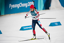 February 17, 2018 - Pyeongchang, SOUTH KOREA - 180217 Tiril Eckhoff of Norway competes in the  Women's 12.5km Mass Start during day eight of the 2018 Winter Olympics on February 17, 2018 in Pyeongchang..Photo: Petter Arvidson / BILDBYRN / kod PA / 87632 (Credit Image: © Petter Arvidson/Bildbyran via ZUMA Press)
