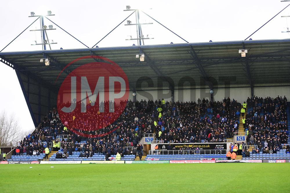 Bristol Rovers fans fill the away end. - Mandatory by-line: Alex James/JMP - 10/02/2018 - FOOTBALL - Kassam Stadium - Oxford, England - Oxford United v Bristol Rovers - Sky Bet League One
