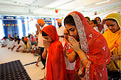 Italy, the Sikh farmers temple