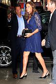 Caitlyn Jenner arriving on Broadway