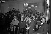 11/01/1963<br /> 01/11/1963<br /> 11 January 1963<br /> Leipzig Fair reception and film show at the Gresham Hotel, Dublin. A general view of the film show.