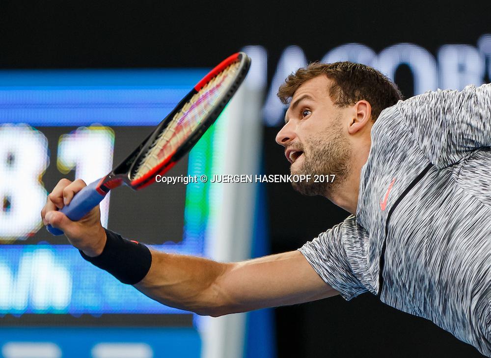 GRIGOR DIMITROV (BUL)<br /> <br /> Australian Open 2017 -  Melbourne  Park - Melbourne - Victoria - Australia  - 23/01/2017.