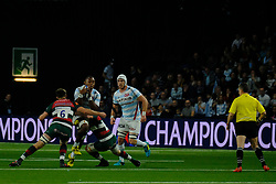 December 9, 2018 - Nanterre, Hauts de Seine, France - Racing 92 Centre VIRIMI VAKATAWA in action during the rugby Champions Cup Day 3 between Racing 92 and Leicester at U Arena Stadium in Nanterre - France..Racing 92 Won 36-26. (Credit Image: © Pierre Stevenin/ZUMA Wire)