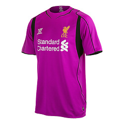 LIVERPOOL, ENGLAND - Thursday, April 10, 2014: Liverpool FC's new 2014/2015 Warrior Kit. (Pic by Warrior/Propaganda)