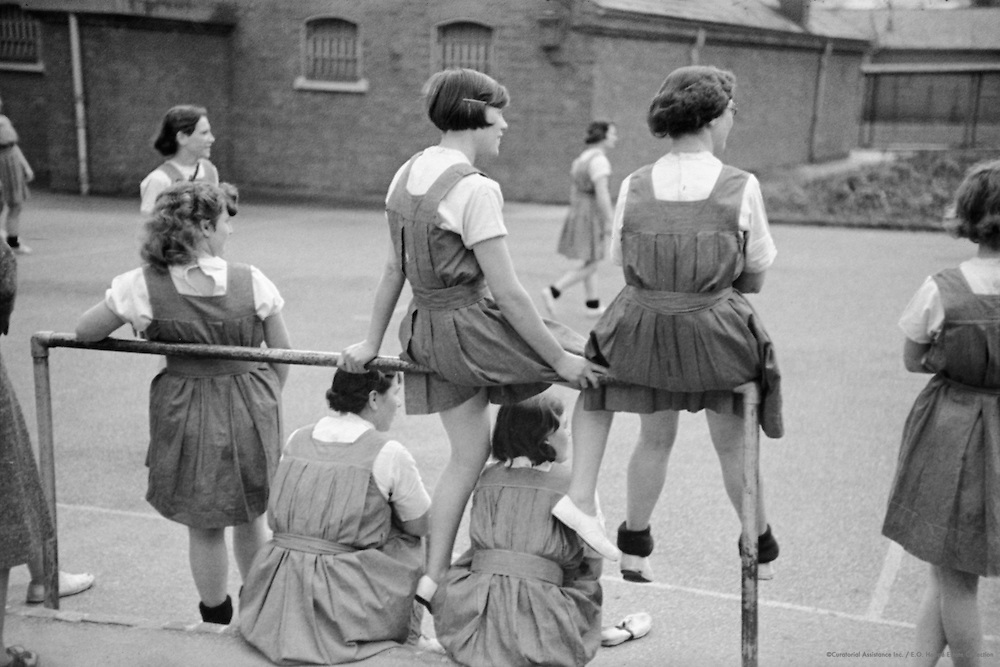 In the Playground, Borstal Institute, 1937
