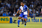 Victor Adeboyejo (29) of Bristol Rovers during the EFL Cup match between Bristol Rovers and Brighton and Hove Albion at the Memorial Stadium, Bristol, England on 27 August 2019.