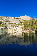 Second Lake under the Palisades, Big Pine Lakes basin, John Muir Wilderness, California