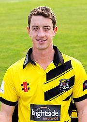Will Tavare of Gloucestershire Cricket poses for a headshot in the NatWest T20 Blast kit - Mandatory by-line: Robbie Stephenson/JMP - 04/04/2016 - CRICKET - Bristol County Ground - Bristol, United Kingdom - Gloucestershire  - Gloucestershire Media Day