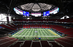 during the Chick-fil-A Bowl Game at  the Mercedes-Benz Stadium, Saturday, December 29, 2018, in Atlanta. ( Paul Abell via Abell Images for Chick-fil-A Kickoff)