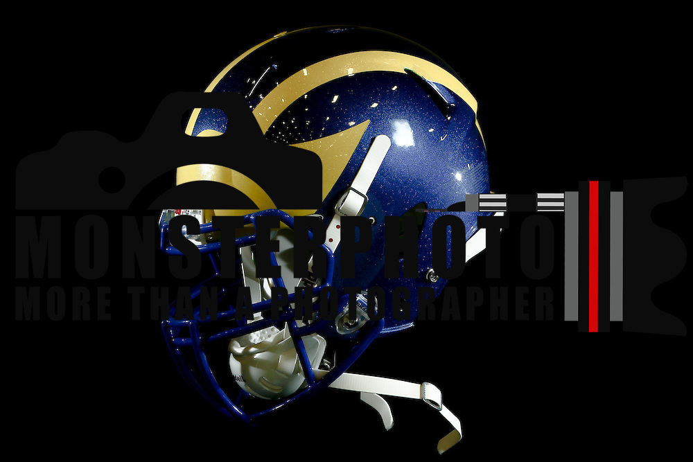 Winged Helmet Design photographed Sunday, August 14, 2016, at Delaware Field House Facility on the campus of the university of Delaware in Newark.