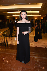 Asami Zdrenka at The Asian Awards, The Hilton Park Lane, London England. 5 May 2017.<br /> Photo by Dominic O'Neill/SilverHub 0203 174 1069 sales@silverhubmedia.com