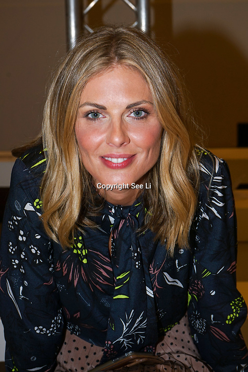 "London, England, UK. 15th September 2017.Donna Air attend ""Ones to Watch"" at FASHION SCOUT SS18 at Freemasons Hall."