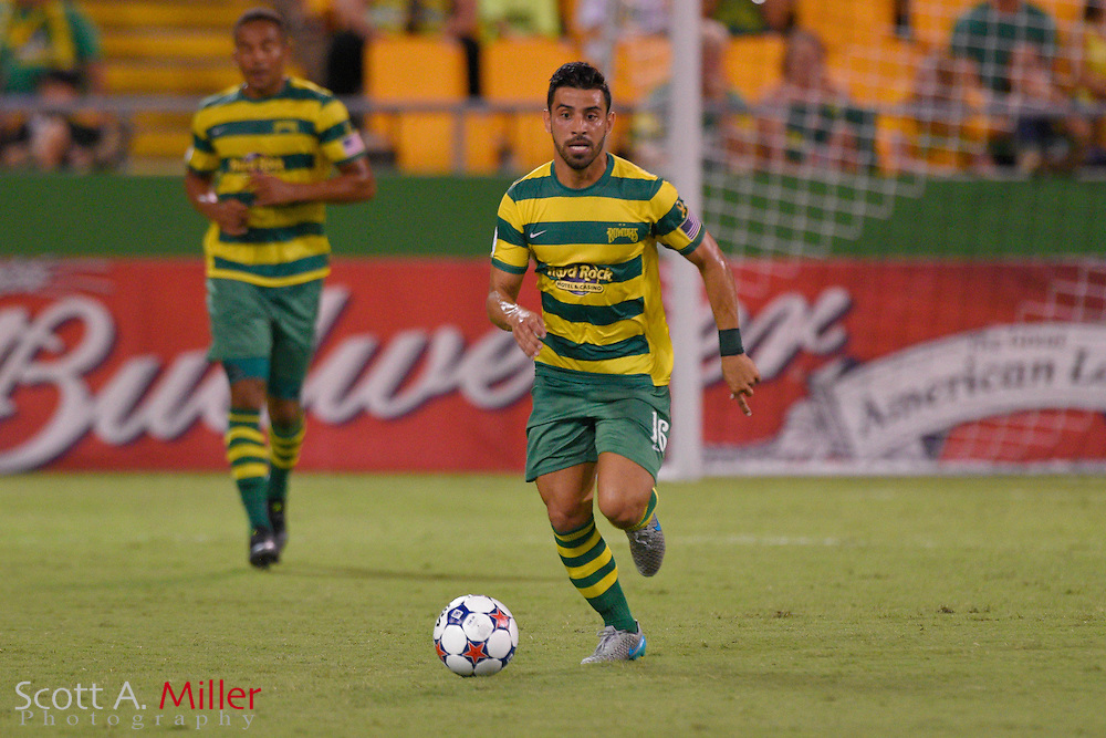 Tampa Bay Rowdies vs San Antonio Scorpions at Al Lange Stadium on Sept. 19, 2015.<br /> <br /> Tampa Bay Rowdies/Scott A. Miller