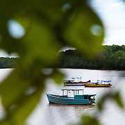 Images of Puerto Mutis in Veraguas, Panama. Puerto Mutis is one of the departing point for boats and travelers heading to Cobi Island. Photo: Tito Herrera