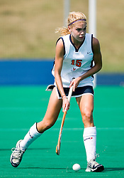 Virginia Cavaliers M/B Boyd Vicars (15)..The Virginia Cavaliers field hockey team fell to the Boston University Terriers 3-0 at the University Hall Turf Field in Charlottesville, VA on September 23, 2007