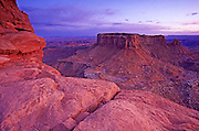 Grand View Point Overlook in Canyonlands National Park, Utah