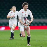Ruth Laybourn in action, England Women v France Women in the 6 Nations at Twickenham Stadium, Twickenham, England, on 21st March 2015