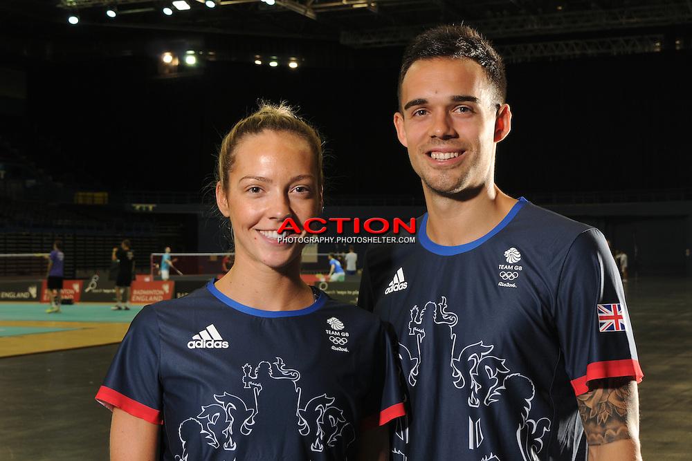 Team GB, Badminton Squad, Training, Rio, 2016,<br /> Olympics