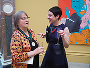 PHYLLIDA BARLOW; EVA ROTHSCHILD, Royal Academy of Arts Annual Dinner. Burlington House, Piccadilly. London. 6 June 2017