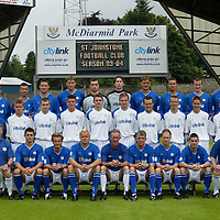 St Johnstone photocall season 2003-2004<br />