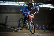 #80 (DIAZ Mariana) ARG at the 2014 UCI BMX Supercross World Cup in Manchester.