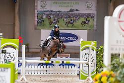 Franken Kirsten, BEL, De Wheem's Claudia<br /> Nationaal Indoor Kampioenschap Pony's LRV <br /> Oud Heverlee 2019<br /> © Hippo Foto - Dirk Caremans<br /> 09/03/2019